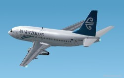 Fs2002 Air New Zealand 737-204 Textures image 1