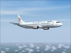 FS2004 - Boeing 737-46J Olympic Aviation image 1