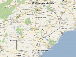 FSX Flight Plan OB-17 Statesboro GA image 1