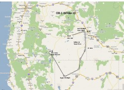 FS2004 Flight plan OB-1 Wilder Idaho IFR image 1