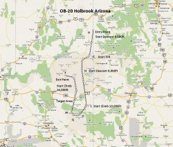 FSX Flight Plan OB-20 Holbrook AZ image 1