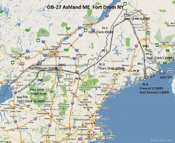 FSX Flight Plan OB-27 Ashland and Fort image 1