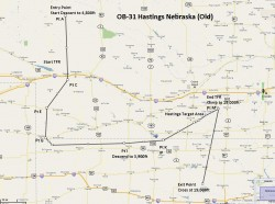 FSX Flight Plan OB-31 Hastings NE image 1
