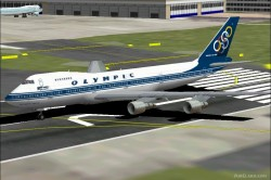 FS2002 Olympic Airways Boeing 747-283 image 1
