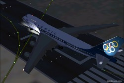 FS2002 Olympic Airways Boeing 747-283 image 2
