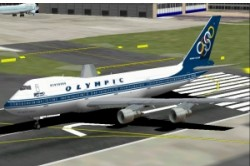 FS2002 Olympic Airways Boeing 747-283 image 3