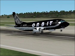 Orbit Airlines -cost Airline Based image 1