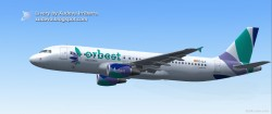 Orbest Airlines Airbus A320-214 image 1