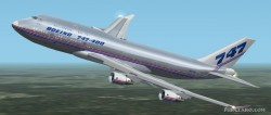 Fs2002 Boeing 747-400 House Livery image 1