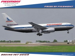 FS2004 Project Opensky Boeing Boeing 767-200 V4 image 3