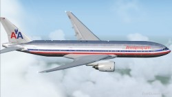 FSX Boeing 777-200ER American Airlines Altn image 1