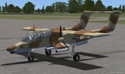 FS2004 NORTH AMERICAN ROCKWELL OV-10D BRONCO image 1