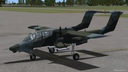FS2004 NORTH AMERICAN ROCKWELL OV-10D BRONCO image 2
