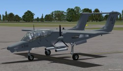 FS2004 NORTH AMERICAN ROCKWELL OV-10D BRONCO image 3