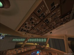 Overland b777 Modified VC Textures image 2