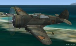 FS2004/FSX Curtiss P-36 Dutch image 2