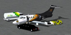FS2004 Executive Express Embraer Phenom 100 Biz image 2