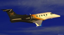FS2004 Executive Express Embraer Phenom 300 Biz image 1