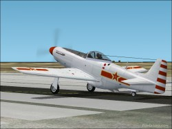 FS2004 P-51D Popular Liberation Army Air Force image 1