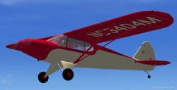 FSX Piper PA-12 Super Cruiser image 1