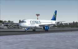 Cyprus Airways Airbus A320-232 IAE image 2