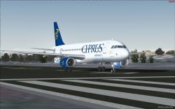 Cyprus Airways Airbus A320-232 IAE image 3