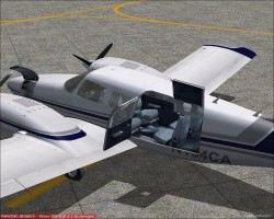 FS2004 Piper PA-34 Cape Air Repaint image 2