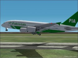 Fs2002 air france airbus a380 promx version 2 image 1