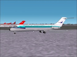 Fs2002 Dc-9-10 Series North Central Airlines image 1