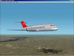 Fs2002 Dc-9-10 Series Northwest Colors image 1