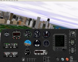 Flightsim FS2004/FS98 Generic piston single image 1