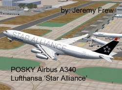 PROJECT OPENSKY AIRBUS A340 VERSION 1 FS2004 image 1