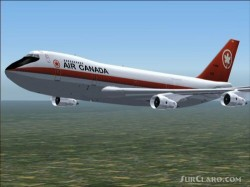 POSky Air Canada 747-2 Package Flightsim image 1