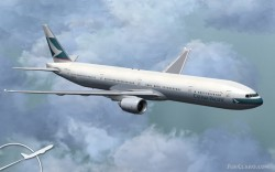 Cathay Pacific Project Opensky 777-300 V2 image 1