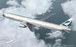 Cathay Pacific Project Opensky 777-300 V2 image 2