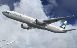 Cathay Pacific Project Opensky 777-300 V2 image 3