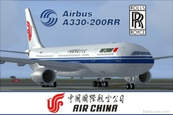 FS2004 Project Opensky A330-200RR Air China image 1
