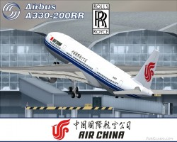 FS2004 Project Opensky A330-200RR Air China image 2