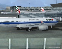 FS2004 Project Opensky A330-200RR Air China image 3