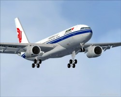 FS2004 Project Opensky A330-200RR Air China image 5