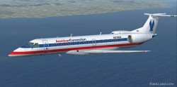 FSX American Connections Embraer ERJ-140LR image 1