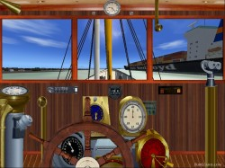 FS2004 Steamship complete with panel and image 3