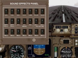 Fs2002 Primo Collection 757-200 United Sfx Panel image 1