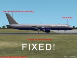 Fs2002 Primo Collection 757-200 United Update image 1