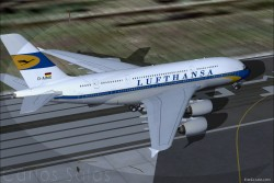Airbus A380-841 Lufthansa RetroJet image 2