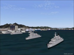 FS2004 Project BN AI Traffic warships image 3