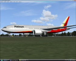 Platinum Airways B777-200 FSX image 1