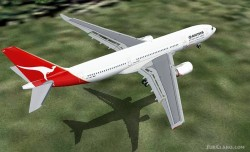Project Opensky Airbus A330-200 Qantas Airways image 1