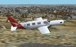 FS2002 Piper Malibu Meridian New Model image 1