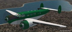 FS2002/2004 Beechcraft C45F Expediter ROYAL image 1